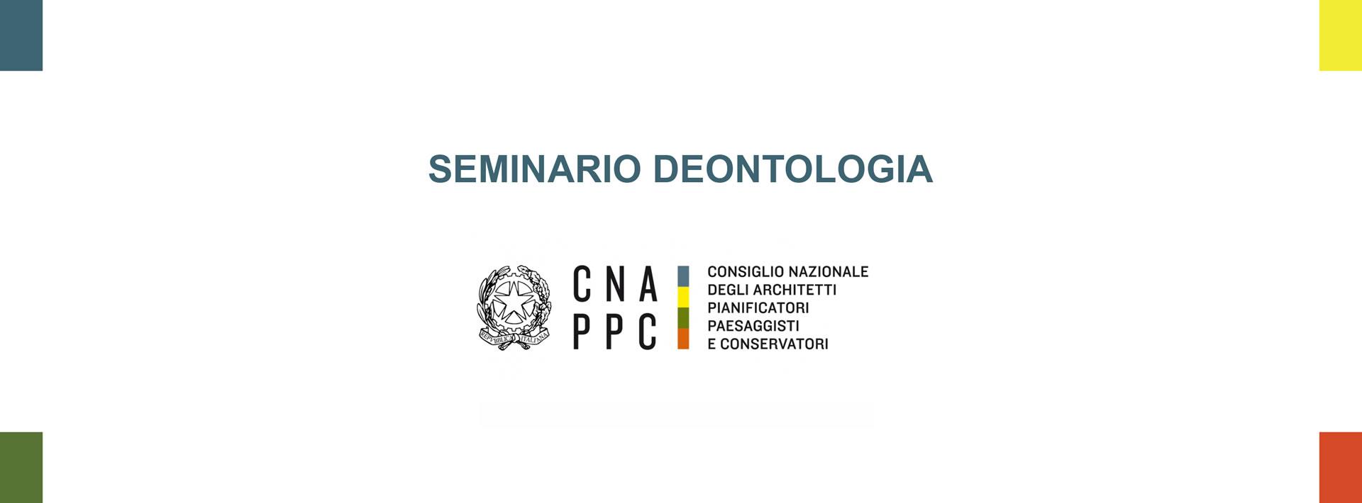 Albo Architetti Messina corso di deontologia anno 2019 fad – seminario annuale sui