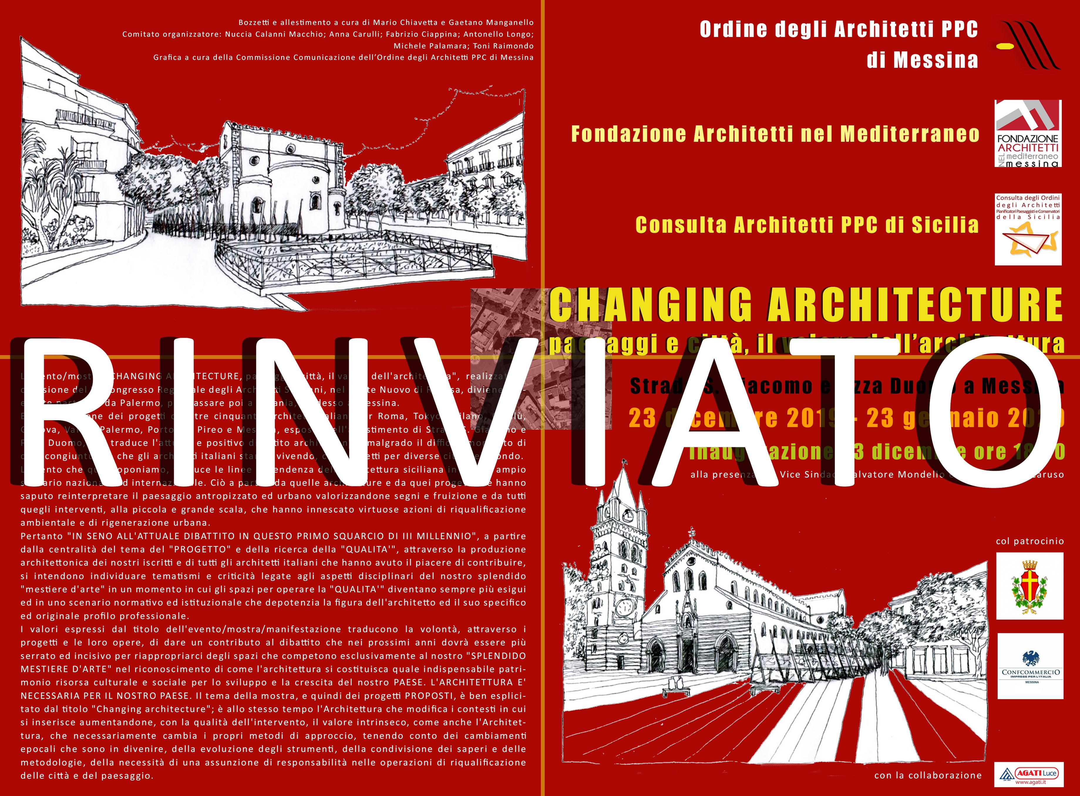 Albo Architetti Messina comunicati stampa – archme